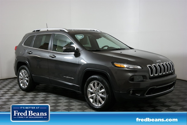 Used 2016 Jeep Cherokee Limited 4WD  Limited in Doylestown