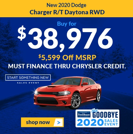 New 2020 Dodge Charger R/T Daytona RWD