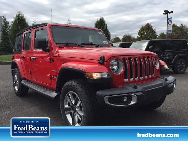 New 2018 Jeep Wrangler UNLIMITED SAHARA 4X4 Sport Utility in Doylestown