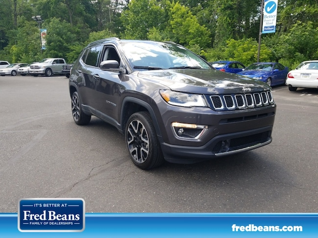 Used 2018 Jeep Compass Limited Limited 4x4 in Doylestown