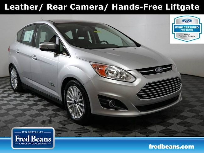 Certified Pre-Owned 2016 Ford C-Max Energi SEL Hatchback FWD I4 *Ford Certified* Hatchback For Sale in Doylestown PA