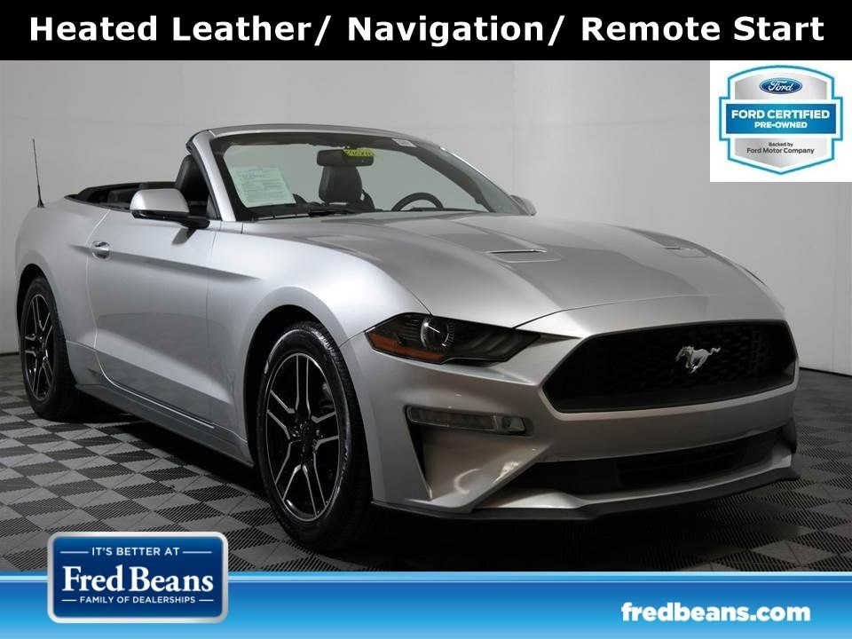 2018 Ford Mustang Convertible Premium 2.3L EcoBoost RWD I4 *Ford Cer Convertible