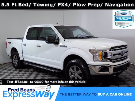 2018 Ford F-150 XLT Supercrew 4X4 V8 *Ford Certified*