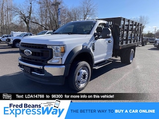 2020 Ford F-450 Chassis 12ft Reading Stake Body Truck Regular Cab