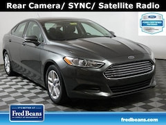 2016 Ford Fusion SE FWD I4 *Ford Certified* Sedan