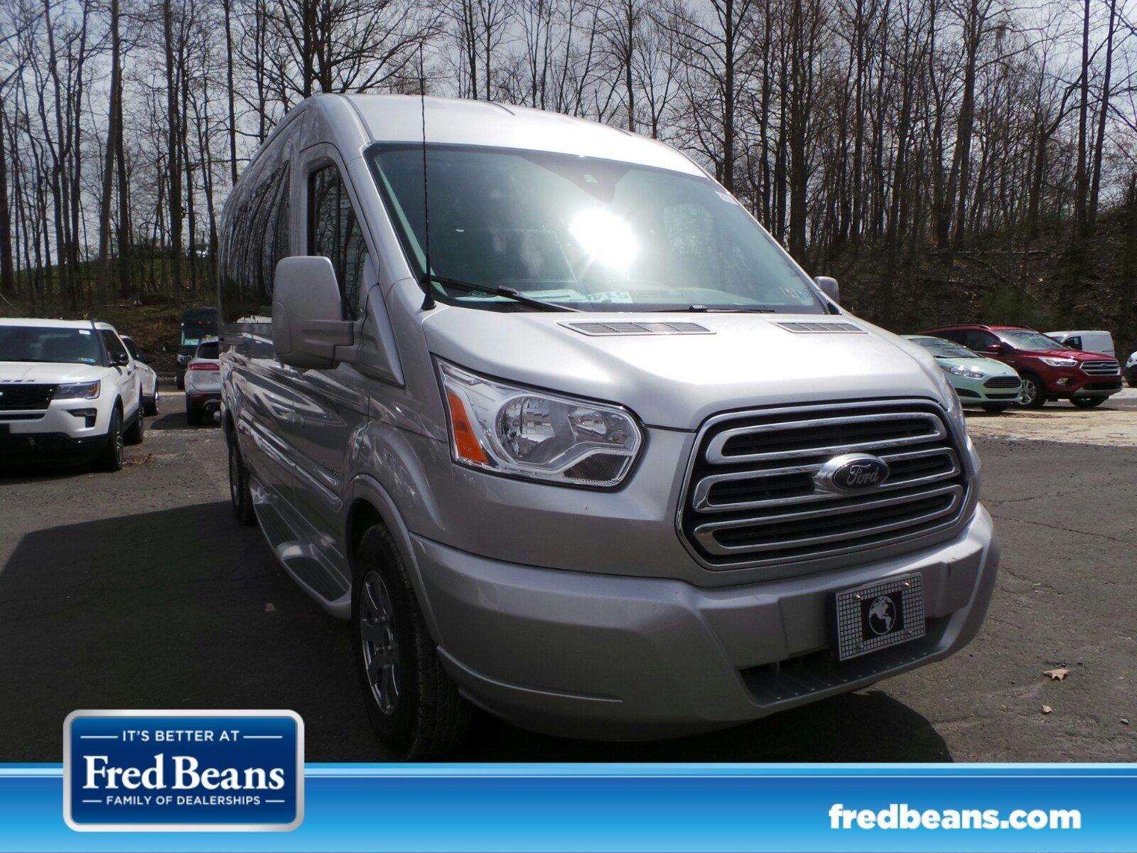 2018 Ford Transit-250 9-Passenger Mid-Roof Explorer Limited SE High Top Van