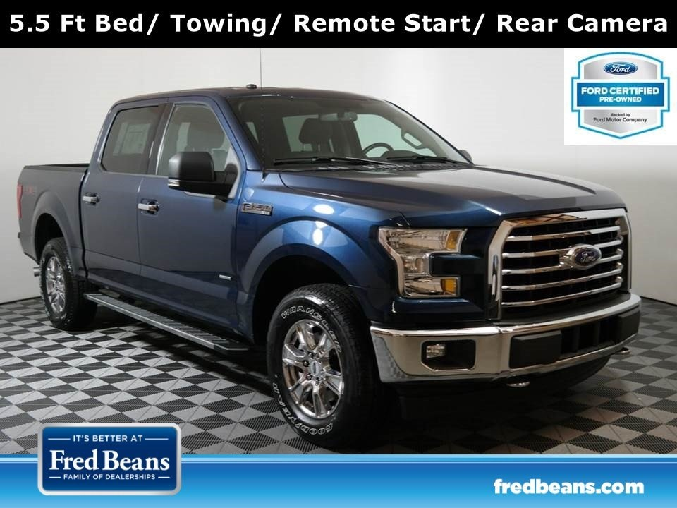 2017 Ford F-150 XLT Supercrew 3.5L EcoBoost 4X4 V6 *Ford Certified Truck SuperCrew Cab