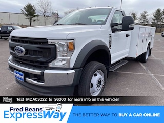 2021 Ford F-450 Chassis 11ft Reading Utility Body Truck Regular Cab
