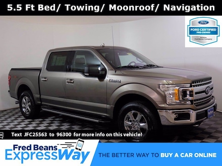 2018 Ford F-150 XLT Supercrew 2.7L EcoBoost 4X4 V6 *Ford Certified Truck SuperCrew Cab