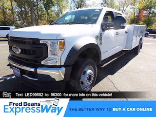 2020 Ford F-450 Chassis 11ft Reading Utility Body Truck Crew Cab