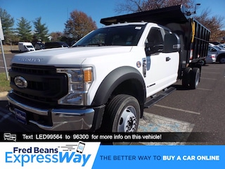 2020 Ford F-550 Chassis 12ft Reading Landscape Dump Truck Super Cab