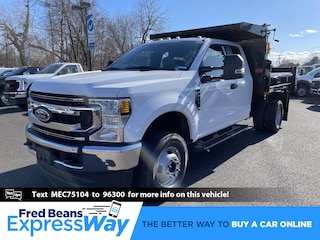 2021 Ford F-350 Chassis 9ft Rugby Mason Dump Truck Super Cab