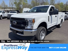 2021 Ford F-250 8ft Reading Utility Body Truck Regular Cab