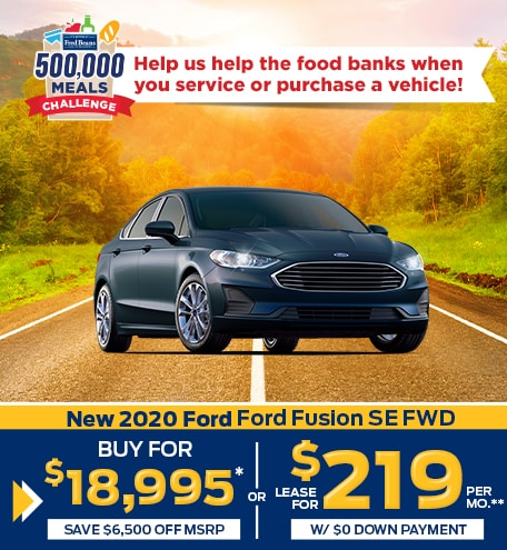 New 2020 Ford Ford Fusion SE FWD