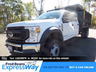 2020 Ford F-550 Chassis 12ft Reading Landscape Dump Truck Crew Cab