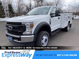 2021 Ford F-450 Chassis 9ft Reading Utility Body Truck Regular Cab