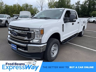 2022 Ford F-350 Chassis 9ft Reading Utility Body Truck Crew Cab