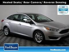 2016 Ford Focus SE FWD I4 *Ford Certified* Sedan