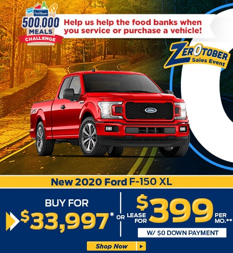 New 2020 Ford F-150 XL SuperCab Styleside 4X4