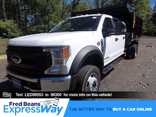 2020 Ford F-450 Chassis 12ft Reading Landscape Dump Truck Crew Cab