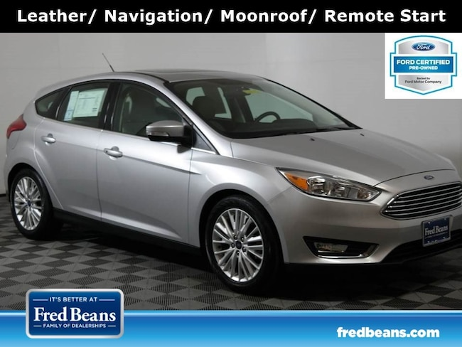 Certified Pre-Owned 2018 Ford Focus Titanium Hatchback FWD I4 *Ford Certified* Hatchback For Sale in Doylestown PA