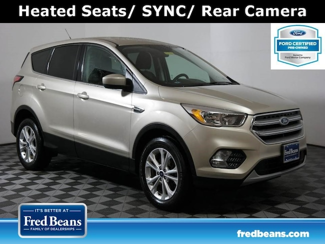 Certified Pre-Owned 2017 Ford Escape SE 1.5L EcoBoost 4WD I4 *Ford Certified* SUV For Sale in Doylestown PA