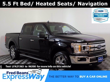 2020 Ford F-150 XLT Supercrew 3.5L EcoBoost 4X4 V6 *Ford Certified Truck SuperCrew Cab