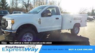 2020 Ford F-350 Chassis 9ft Reading Utility Body Truck Regular Cab