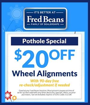 Pothole Alingment Special