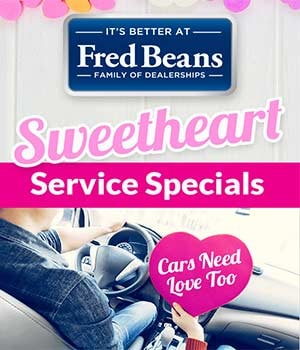 February Sweetheart Service Specials