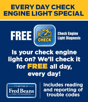 Check Engine Light Special