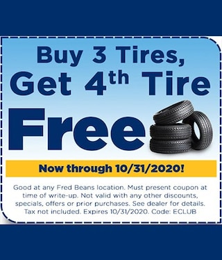 Tire Offer Car Care Month