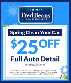 Spring Cleaning Detail Special