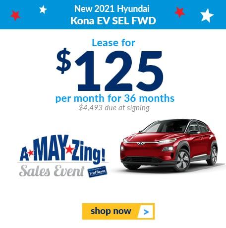 New 2021 Hyundai Kona EV SEL FWD