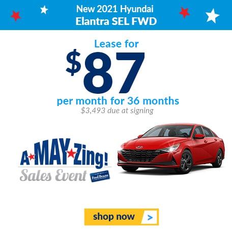 New 2021 Hyundai Elantra SEL FWD