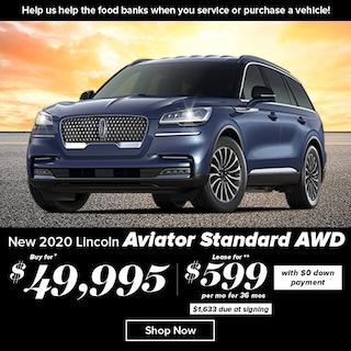 2020 Lincoln Aviator Standard AWD