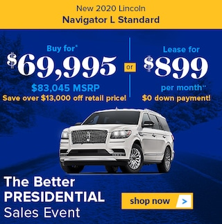 New 2020 Lincoln Navigator L Standard