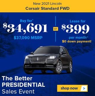 New 2021 Lincoln Corsair Standard FWD