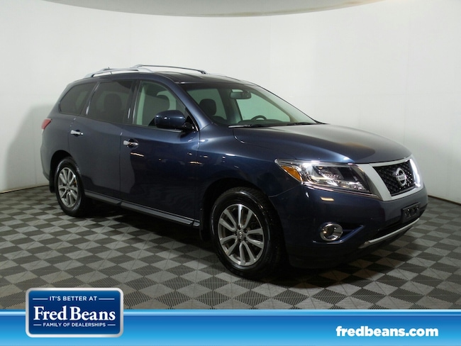 Certified Pre-Owned 2015 Nissan Pathfinder SV SUV For Sale in Newtown, PA
