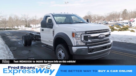 2021 Ford F-600 Chassis Truck Regular Cab