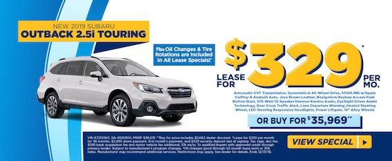 Fred Beans Subaru >> Lease A 2019 Outback Touring For 329 Mo At Fred Beans