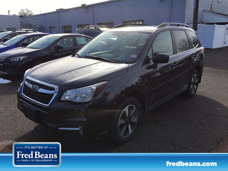 Certified 2017 Subaru Forester Limited SUV JF2SJAJCXHH408749 408749 for sale at Fred Beans Subaru in Doylestown, PA