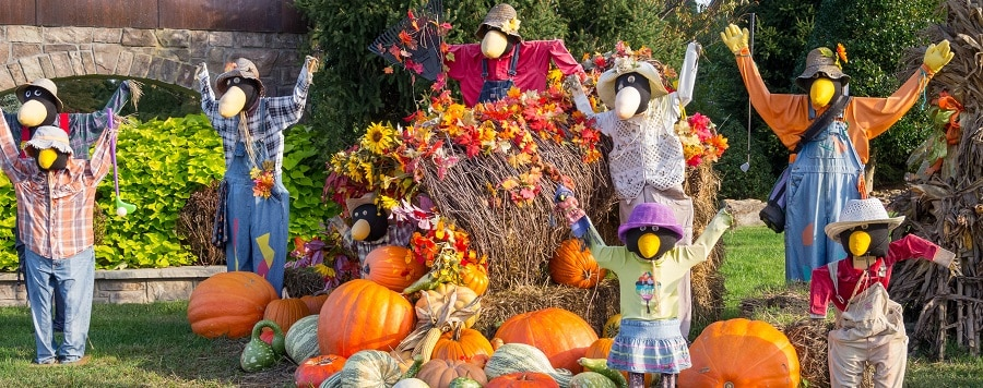 Scarecrow Festival Peddlers Village