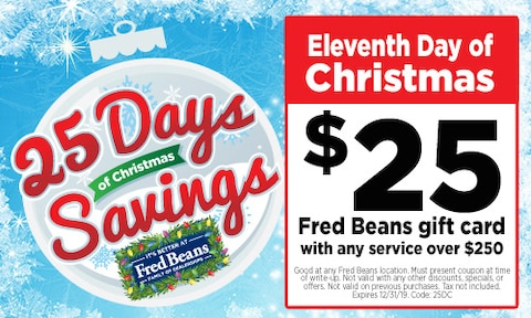 Eleventh Day of Christmas