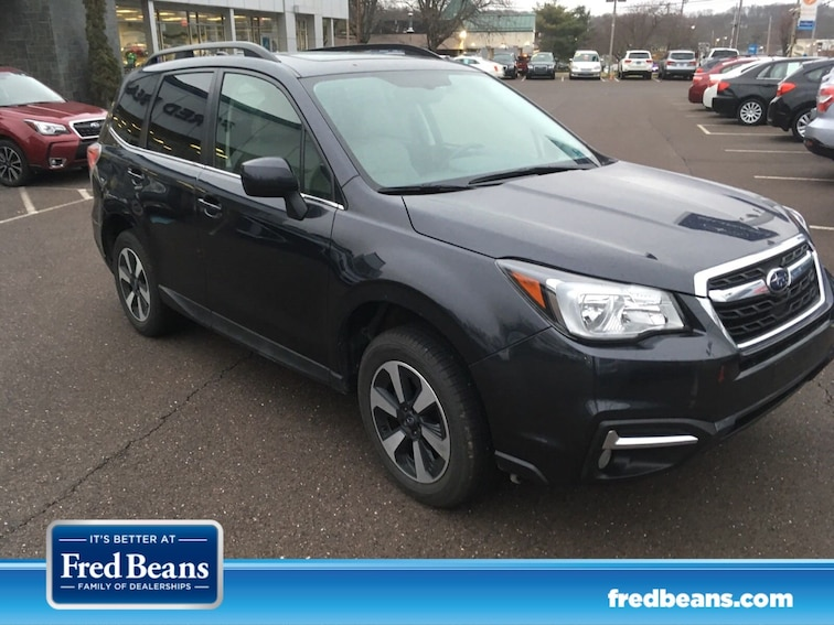 Certified 2018 Subaru Forester Limited SUV for sale at Fred Beans Subaru in Doylestown, PA