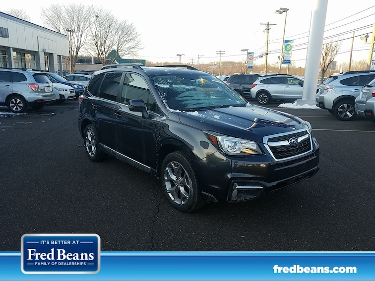 Certified 2017 Subaru Forester Touring SUV JF2SJATC4HH400031 S90024P for sale at Fred Beans Subaru in Doylestown, PA