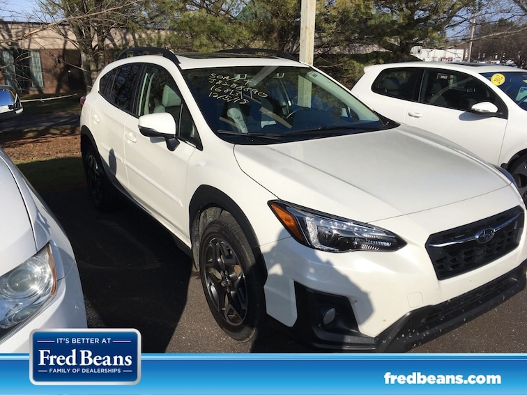 Certified 2018 Subaru Crosstrek SUV for sale at Fred Beans Subaru in Doylestown, PA