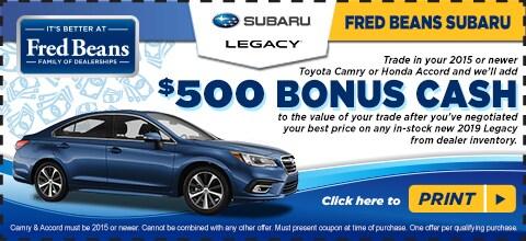 Fred Beans Subaru >> Legacy Challenge Doylestown Pa Fred Beans Subaru