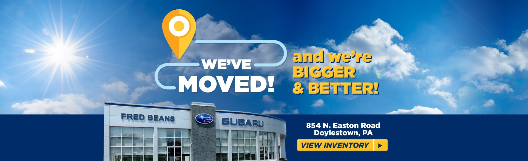Fred Beans Subaru >> Subaru Dealership Doylestown PA | Fred Beans Subaru