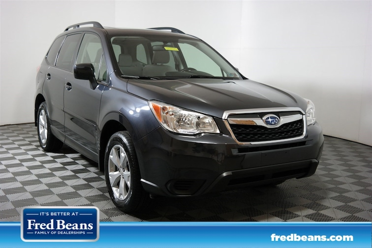 Used 2016 Subaru Forester 2.5i Premium SUV JF2SJADC9GH466684 S904591 for sale in Doylestown, PA at Fred Beans Subaru